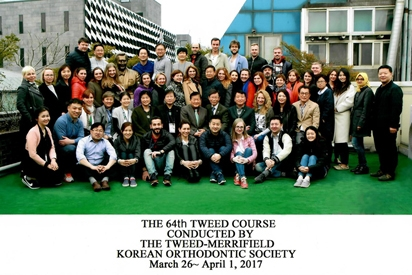 The Tweed-course. Южная Kорея, Сеул, 26/03-1/04/2017